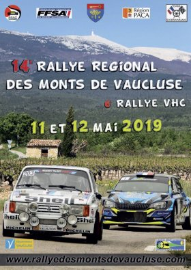 Rallye des Monts de Vaucluse 2019