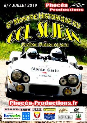 Montée historique du Col St Jean 2019