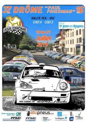 Rallye de la Drôme - Paul Friedman 2019