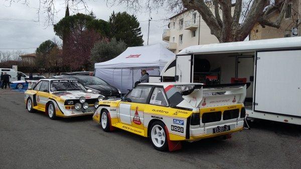 Rallye de Vaison 2020 | Audi Quattro S1