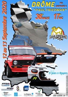 Rallye de la Drôme - Paul Friedman 2020