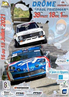 """Rallye de la Drôme """"Paul Friedman"""" 2021 ... Et de 8 pour Lacomy"""