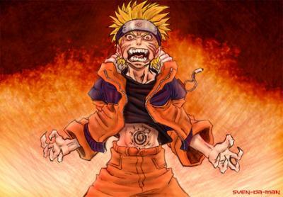 Naruto Kyuubi Chakra Mode Wallpaper