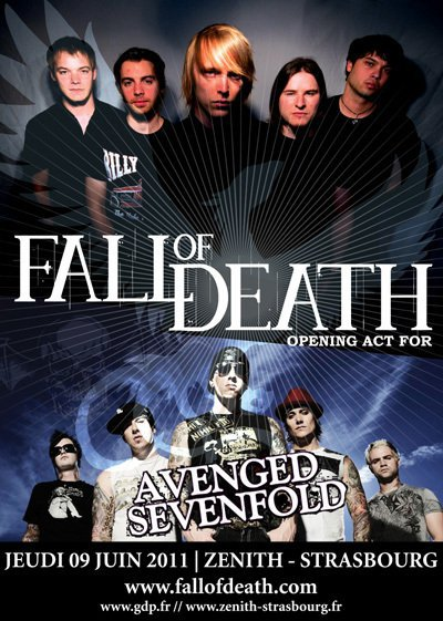 Fall Of Death & Avenged Sevenfold/ Le Zénith-Strasbourg