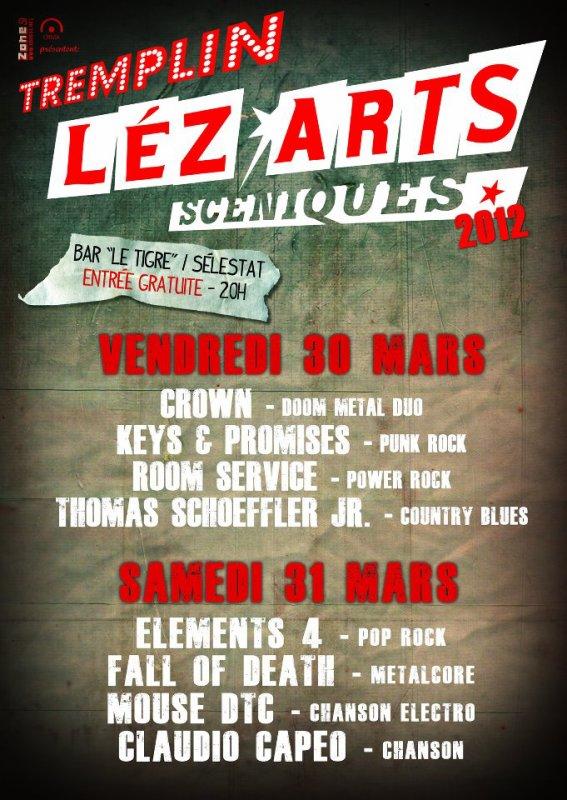 - TREMPLIN LEZ'ARTS SCENIQUES 2012