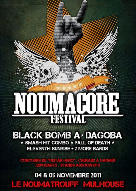 Noumacore 2011; Black Bomb A + Dagoba + Fall Of Death !