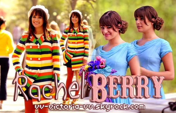 Rachel Berry, le rôle de Lea M. dans Glee
