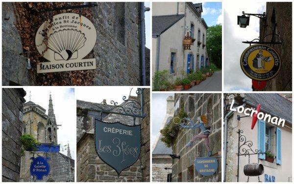 en passant par Locronan (Finistère)
