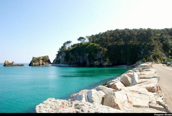 Port Morgat, presqu'île de Crozon (Finistère)