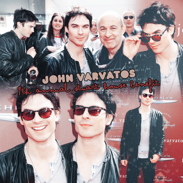 Article #6 : JOHN VARVATOS, 9TH ANNUAL STUART HOUSE BENEFIT + GENESIS AWARDS 2O12