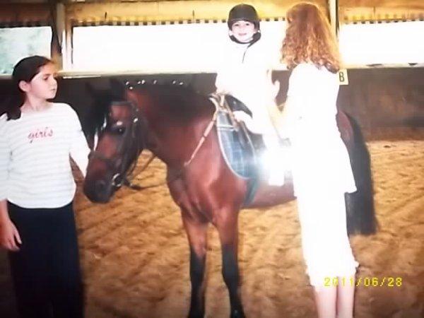 Urgo et moi quand j'étais petite !