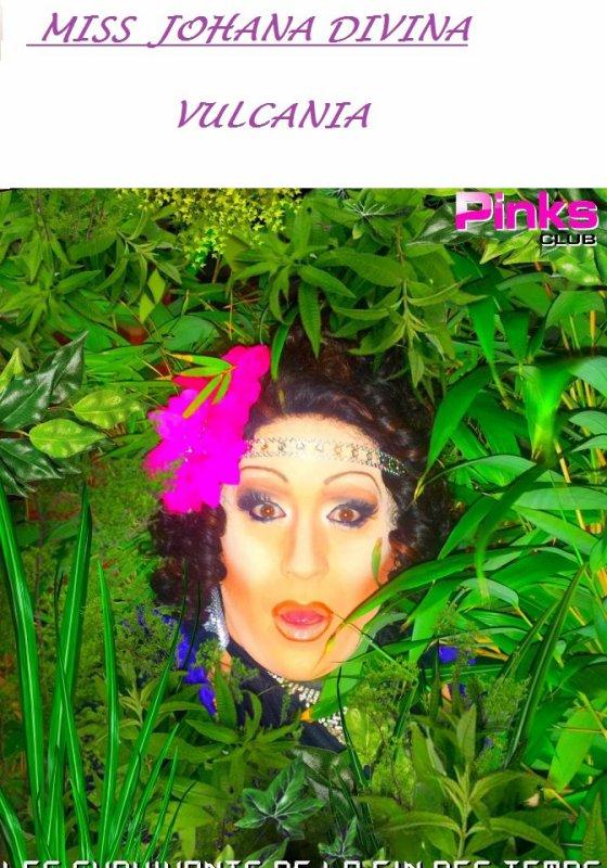 Miss Johana Divina Vulcania au Pinks club lyon 1er