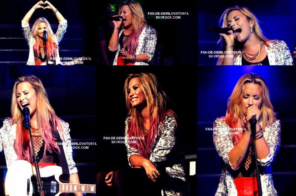 26 Juin / Demi était à Saragota Springs, à New-York, à l'occasion de son Summer Tour 2012 !!! Et de plus , j'ai ajouter des photos du Soundcheck..