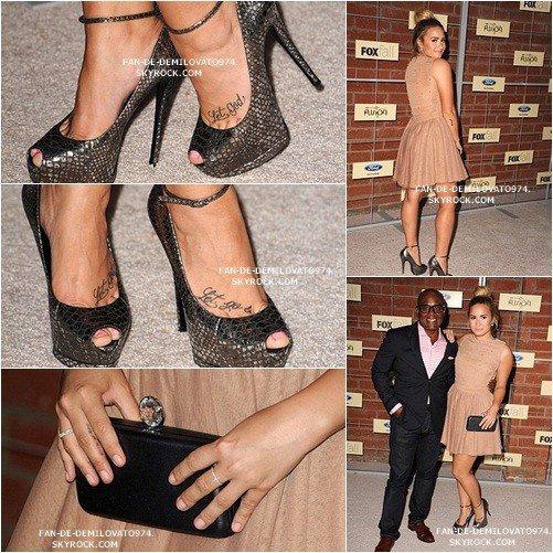 Demi assisté à la chute FOX Eco-Casino partie à l'atelier de reliure le 10 Septembre 2012 à Culver City, en Californie. Elle a l'air tellement magnifique!