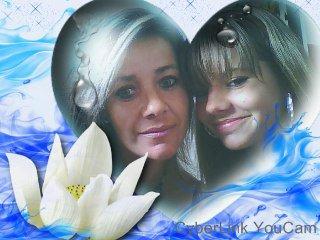 Ma fille Morgane et Moi