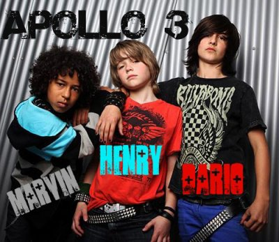 Apollo 3 = this the best band rock! <3