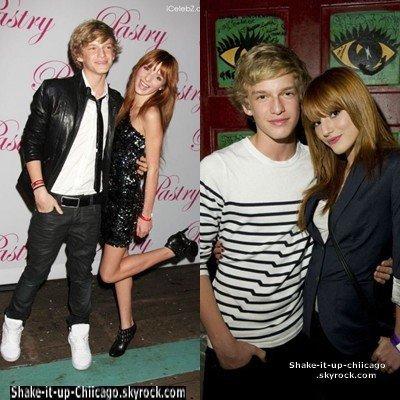 """Bella & Cody Simpson De simple ami ? Les Questions se posent ! D'aprés Les Rumeurs ils seraient plus que des amis mais sa reste à voir car une rumeur reste une """"rumeur"""" ! Mais sinon je trouve qu'il formerai un très joli couple & Vous ? ♥ ;D"""