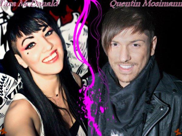 Quentin Mosimann ou Tara McDonald ?