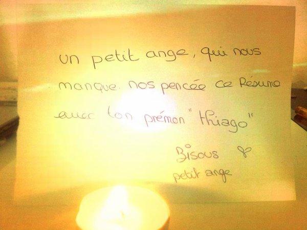 Mon Ange 2♥ ‹ Thiago Gabriel .• R.I.P› 24/01/2013 . Il me Reste que ces Photo de Toi pour Pleurer :) ♥