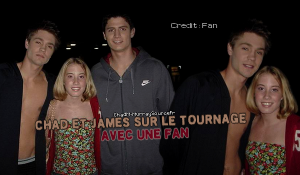 • Tournage ►  Le 10 Novembre 2003 - Tournage !