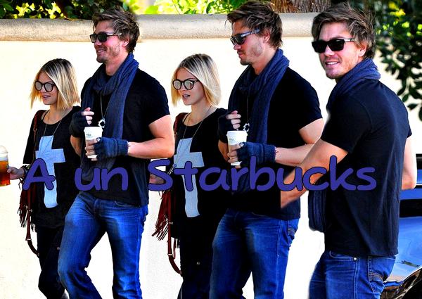 • Candids ►  Le 15 Janvier 2011 - A un Starbucks