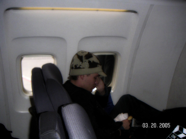 • Fan Photo ►  Le 20 Mai 2005 - Dans un avion