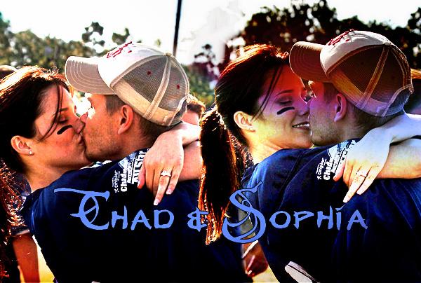 • Les amours de Chad ►  Chad & Sophia {2003-2005}