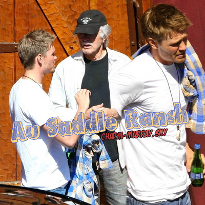 • Candids ►  Le 12 Juillet  2010 - Au Saddle Ranch