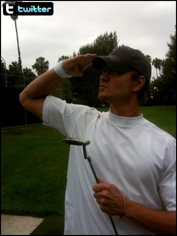 • Twitter ►  Le 18 Juin 2011 - Au Golf