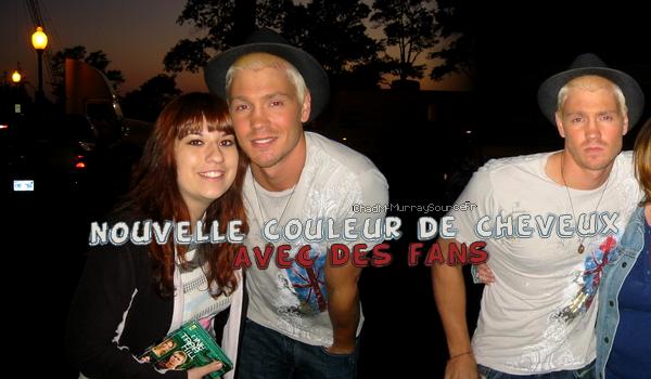 • Photos Avec Les Fans ►  Le 30 Avril 2008 - Sur le Tournage