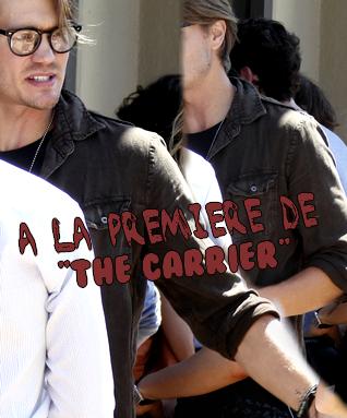 • Apparitions ►  Le 26 Juillet 2011 - A La Première de The Carrier