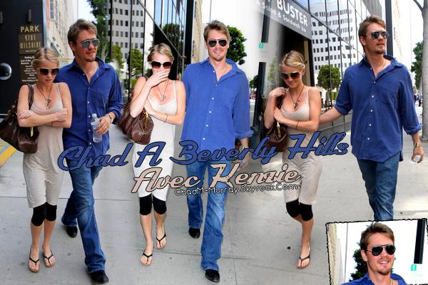 • Candids ►  Le 22 Avril 2009 -Chad & Kenzie Dans Les Rues De Beverly Hills