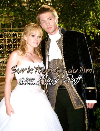 • Tournage ►  Le 29 Juillet 2003 - Chad & Hilary dans Comme Cendrillon