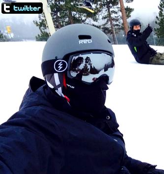 • Twitter ►  Le 04 Janvier 2015 - Chad Sur Les Pistes De Ski
