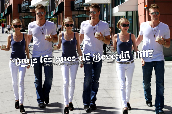 • Candids ►  Le 05 Mai 2009 - Le Couple à Beverly Hills