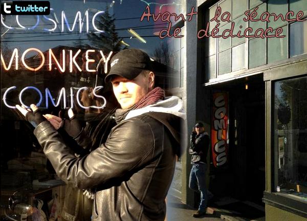 • Twitter ►  Le 13 Décembre 2011 - Cosmic Monkey