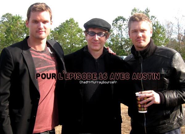 • Tournage ►  Le 03 Novembre 2008 - Tournage De L'Episode 16