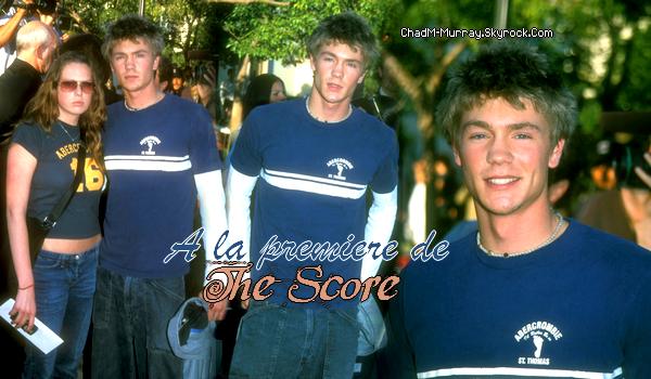 • Apparitions ►  Le 09 Juillet 2001 - La Première de The Score à Los Angeles