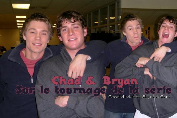 • Tournage ►  Le 21 Février 2004 - Avec Bryan Greenberg Sur Le Tournage
