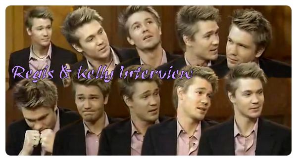• Interview ►  Le 07 Mars 2006 - Interview Regis & Kelly