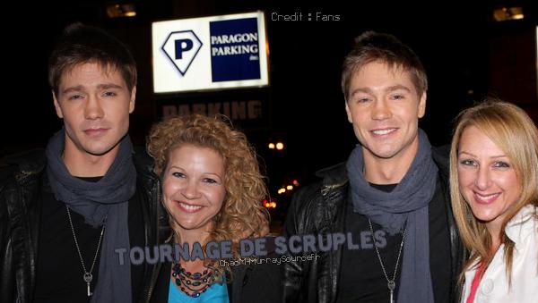 • Tournage ►  Le 17 Mars 2012 - Tournage de Scruples