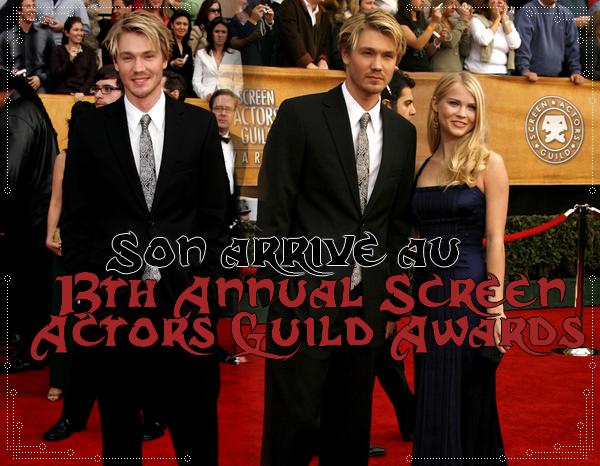 • Apparitions ►  Le 28 Janvier 2007 - 13th Annual Screen Actors Guild Awards