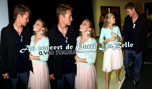 • Apparitions ►  Le 09 Avril 2006 - Chad & Kenzie au Concert dePatti LaBelle