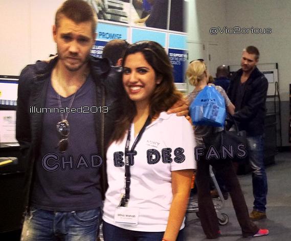 • Photos Avec Les Fans ►  Le 22 Septembre 2013 - Chad à Sony au Sherman Oaks