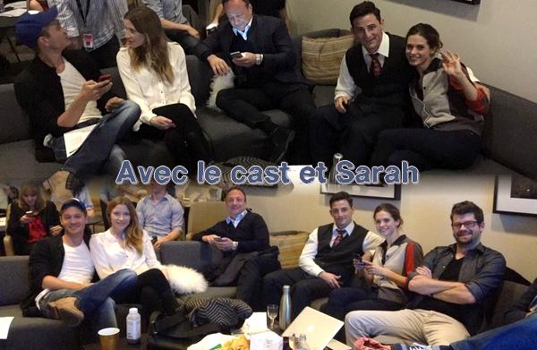 • Apparitions ►  Le 06 Janvier 2015 - En Tweet Live Pour Le Lancement d'Agent Carter