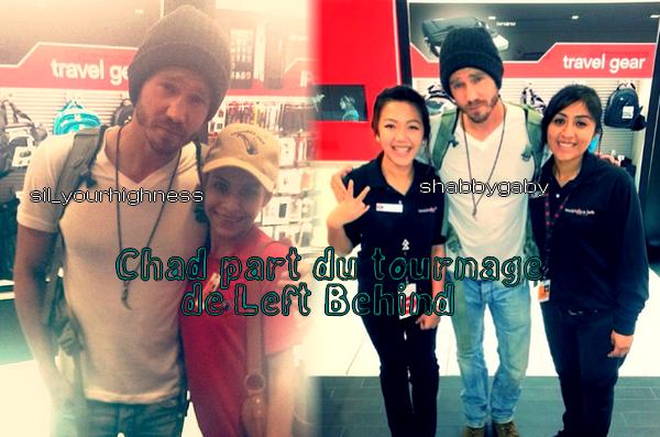 • Photos Avec Des Fans ►  Le 24 Août 2013 - Chad Part Du Tournage