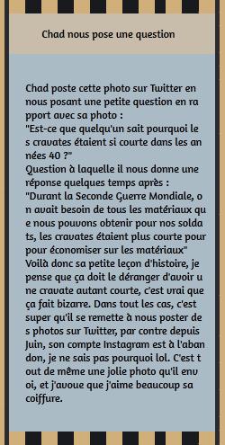 • Twitter ►  Le 08 Janvier 2015 - Petite Leçon d'Histoire De Mr. Murray !