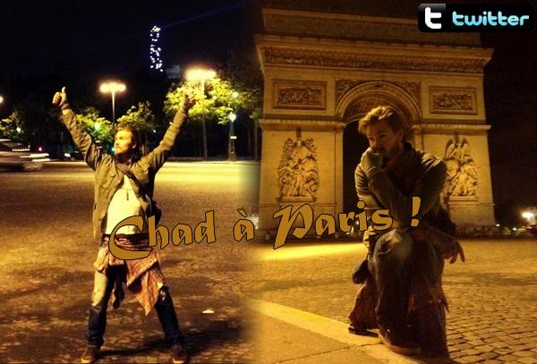 • Twitter ►  Le 17 Juin 2012 - A L'arc de Triomphe