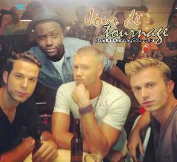 • Tournage ►  Le 28 Septembre 2012 - Sur Le Tournage Du Film