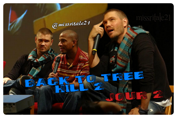 • Apparitions ►  Le 28 Octobre 2012 - Back To Tree Hill 2 ~ Jour 2